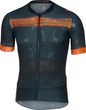 Castelli Climber's 2.0 jersey navy/orange men