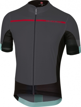 Castelli Forza pro jersey anthracite/red men
