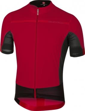 Castelli Forza pro jersey red men