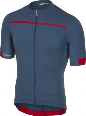 Castelli Forza pro jersey light blue men