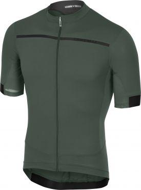 Castelli Forza pro jersey forest gray men