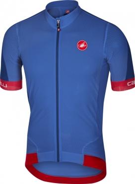 Castelli Volata 2 jersey blue/red men