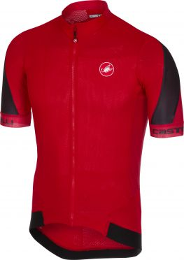 Castelli Volata 2 jersey red/black men