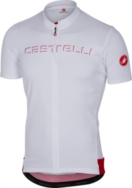 Castelli Prologo V jersey short sleeve white men