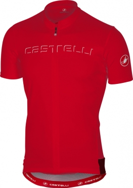 Castelli Prologo V jersey short sleeve red men