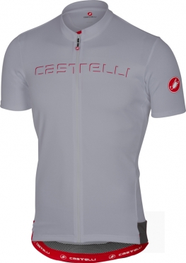Castelli Prologo V jersey short sleeve gray men