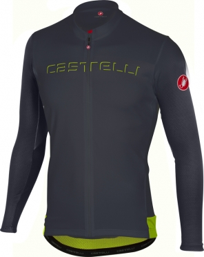 Castelli Prologo V jersey long sleeve anthracite men