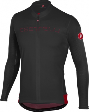 Castelli Prologo V jersey long sleeve black men