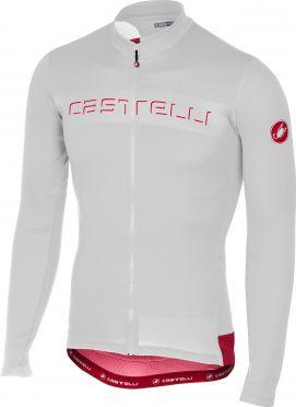 Castelli Prologo V jersey long sleeve white men
