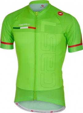 Castelli Spunto jersey short sleeve green men
