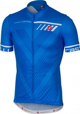 Castelli Velocissimo jersey short sleeve blue men