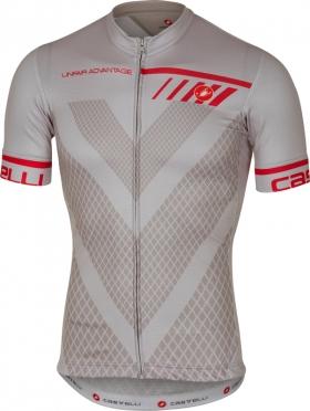 Castelli Velocissimo jersey short sleeve grey men