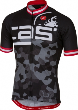 Castelli Attacco jersey short sleeve black men