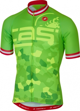 Castelli Attacco jersey short sleeve green men