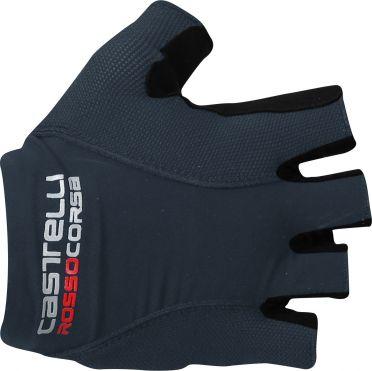 Castelli Rosso corsa pave glove dark blue men