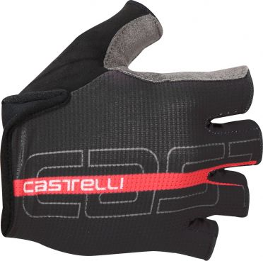 Castelli Tempo glove black/red men