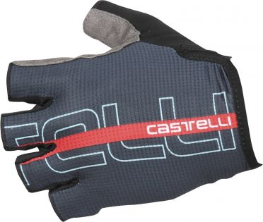 Castelli Tempo glove dark blue/red men