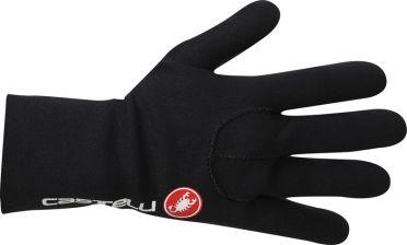 Castelli Diluvio light glove black/red men