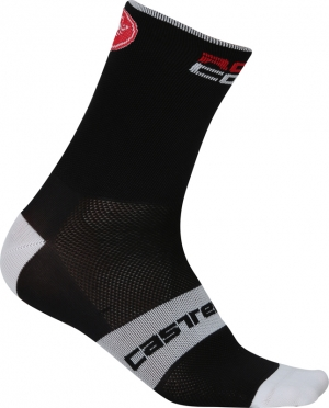 Castelli Rosso corsa 9 cycling sock black men