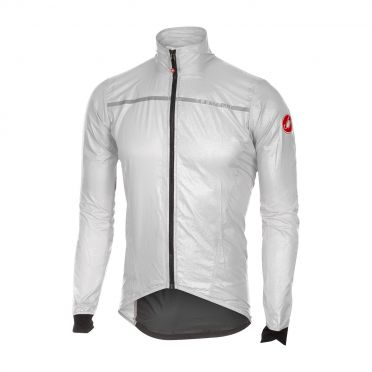 Castelli Superleggera jacket rainjacket white men