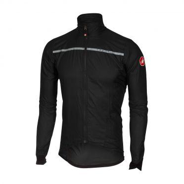 Castelli Superleggera jacket rainjacket black men