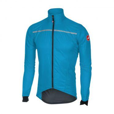 Castelli Superleggera jacket rainjacket blue men