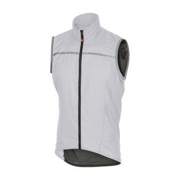 Castelli Superleggera vest rainjacket white men