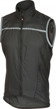 Castelli Superleggera wind vest anthracite men
