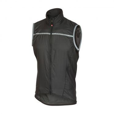 Castelli Superleggera vest rainjacket anthracite men