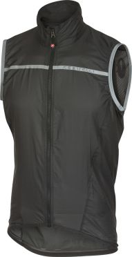 Castelli Superleggera vest anthracite/yellow men