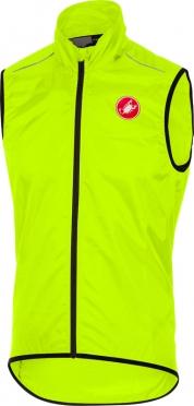 Castelli Squadra long vest yellow men