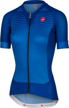 Castelli Aero race W jersey blue/matte women