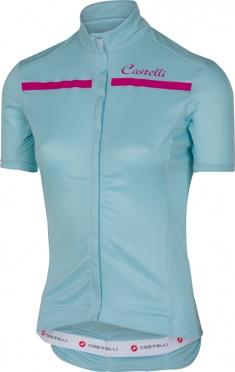 Castelli Imprevisto W jersey pale blue/raspberry women