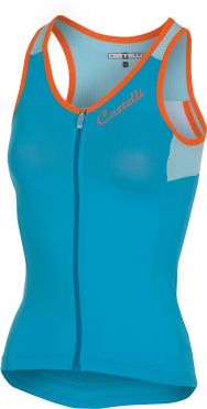 Castelli Solare top sleeveless blue women
