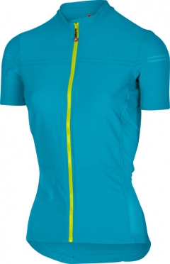 Castelli Promessa 2 jersey caribbean/yellow women