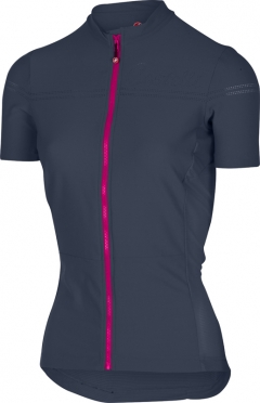 Castelli Promessa 2 jersey navy/raspberry women