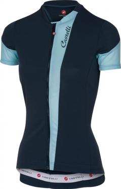 Castelli Spada jersey navy/pale blue women