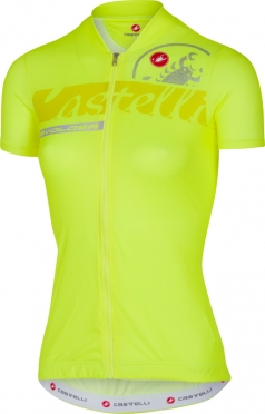 Castelli Favolosa jersey yellow women