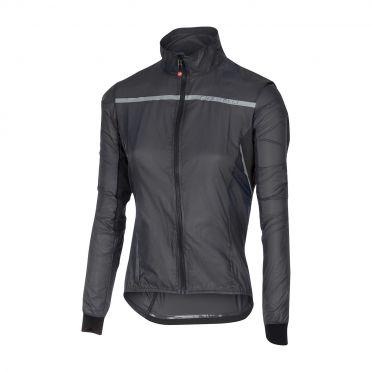 Castelli Superleggera W jacket rainjacket anthracite women