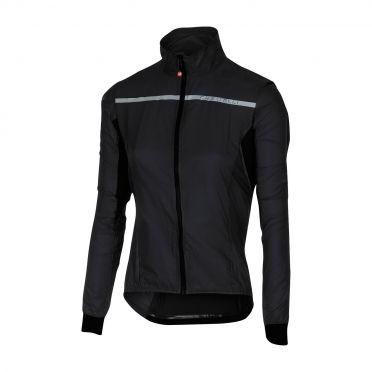 Castelli Superleggera W jacket rainjacket black women