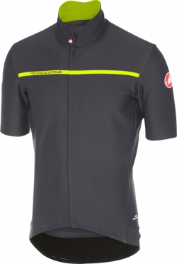 Castelli Gabba 3 short sleeve jersey anthracite men