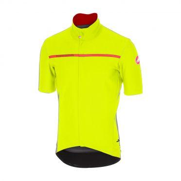 Castelli Gabba 3 short sleeve jersey yellow men