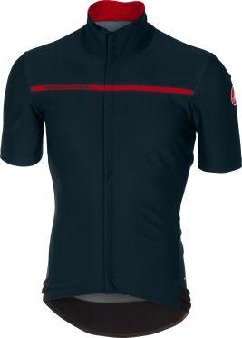 Castelli Gabba 3 short sleeve jersey dark blue men