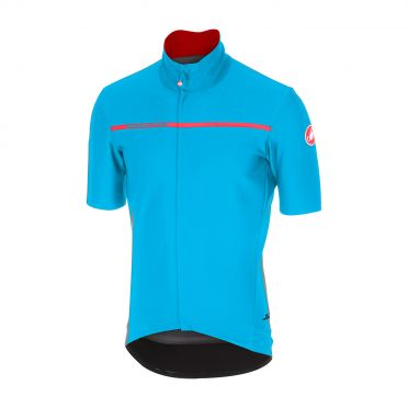 Castelli Gabba 3 short sleeve jacket sky blue men