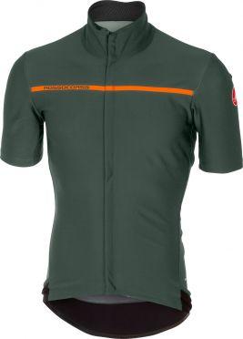 Castelli Gabba 3 short sleeve jersey forest gray men