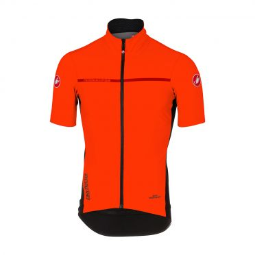 Castelli Perfetto light 2 short sleeve jacket orange men