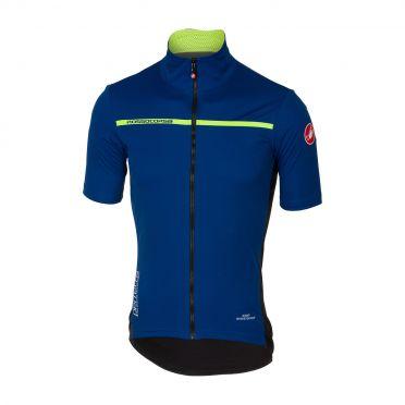 Castelli Perfetto light 2 short sleeve jacket ceramic blue men