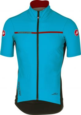 Castelli Perfetto light 2 short sleeve jacket sky blue men