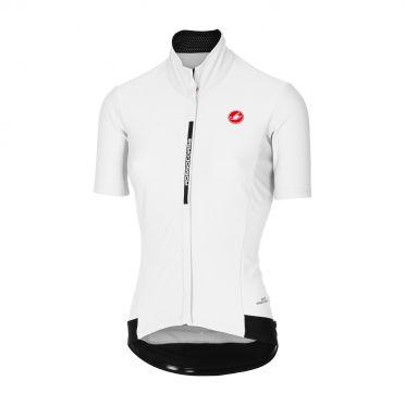 Castelli Gabba 3 W short sleeve jacket white women