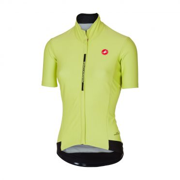 Castelli Gabba 3 W short sleeve jacket lime women